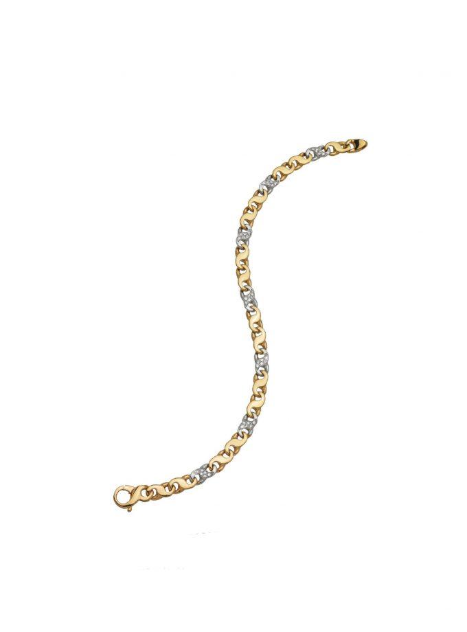 24156 2+1 Brillanti Diamond 18kt Gold Italy Made In Iitaly Jewellery
