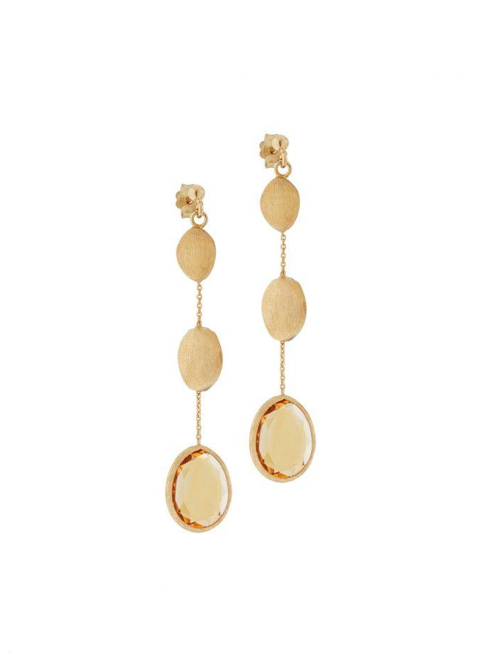 Bassi Italian Jewels 18kt Jewelry Earrings Italy Pep019or
