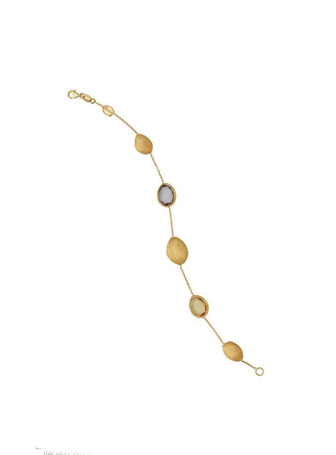 Bassi Italian Jewels 18kt Jewelry Vicenza Italy Pep0217br