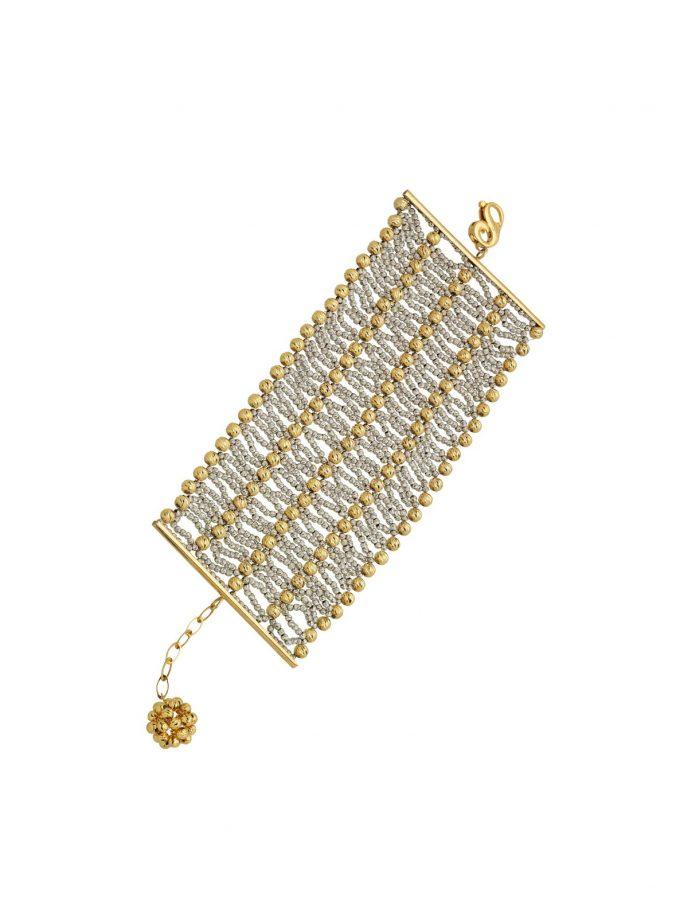 Bassi Italian Jewels 83 Grams,premium Bisantium 18kt Jewelry Vicenza Italy Pep020cl