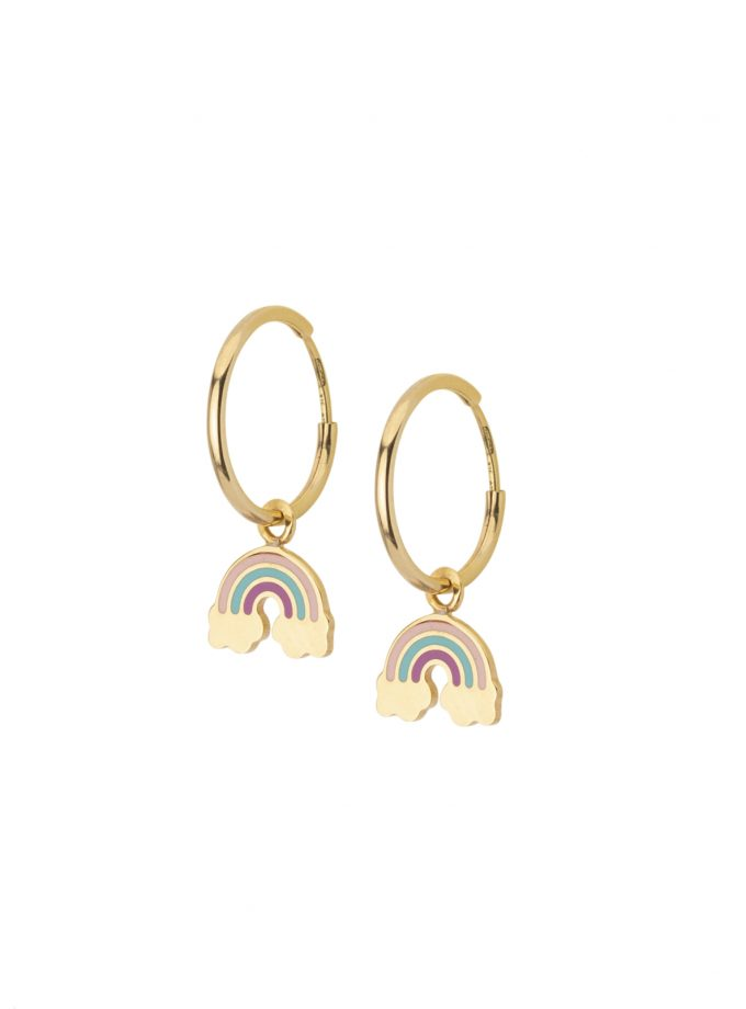 Bassi Italian Jewels Elements Reinbow 18kt Jewelry Vicenza Italy Pep020cl