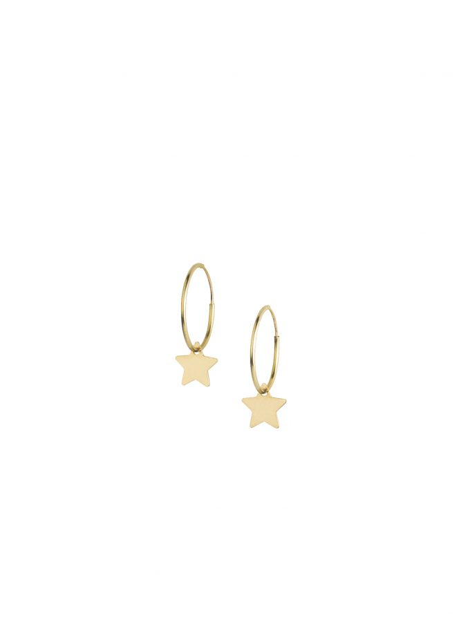 Bassi Italian Jewels Made In Italy Italy Vicenza Vicenza Earrings Star Bijoux Gold 18kt