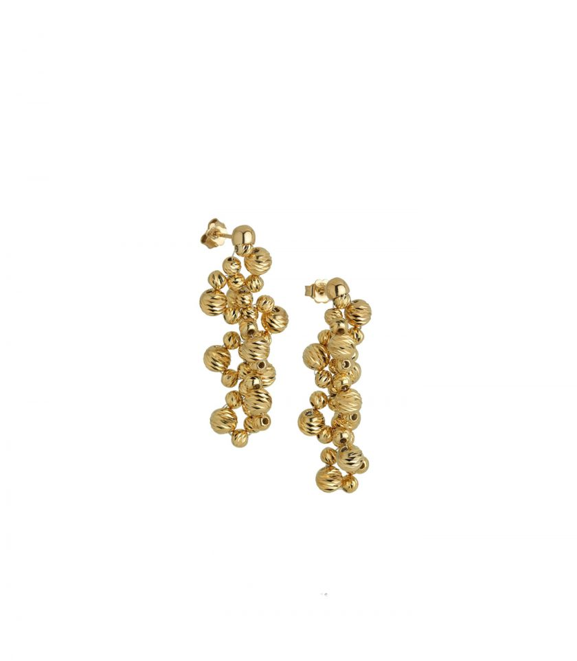 Ion(1v)4dg6dg Earings Orecchinigold 18kt Jewels Bassi Made In Italy Luxury
