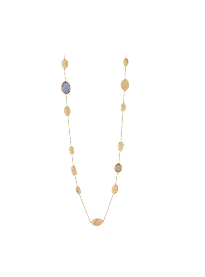 Bassi Italian Jewels Italy Gold Necklace 18kt Pep017cl