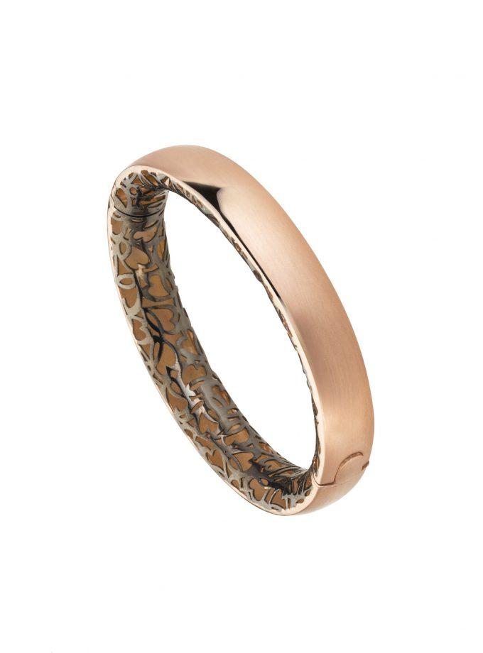 Bassi Italian Jewels 18kt Gold Jewelleryrose Bangle