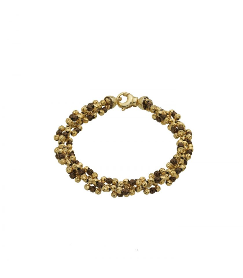 Bassi Italian Jewels 18kt Yellow Gold Jewellery Beads Madeinitaly Ion(3)3dgc