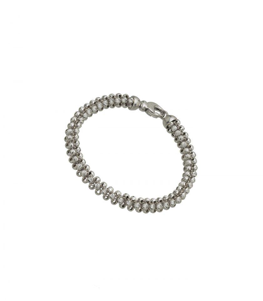 Bracelet 18kt White Gold Jewellery Made In Italy Luxury