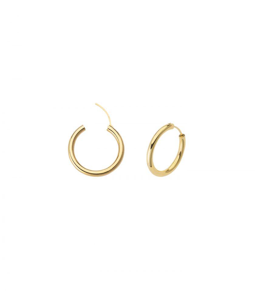 Gioielleria Italiana Basi Italian Jewels Made In Italy 18kt Vicenza Holow Hoop Earrings Wholesale Third Parties